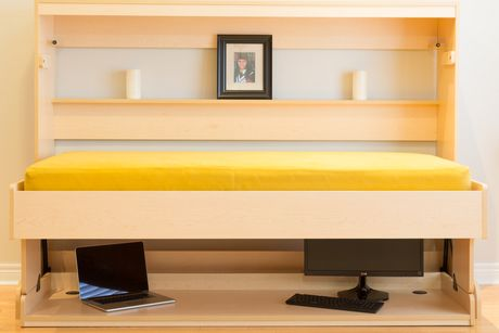 Smart Spaces Hiddenbed Convertible 2 In 1 Murphy Wall Bed
