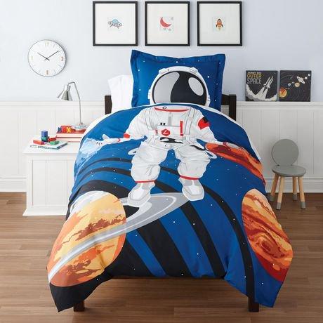 Mainstays Kids Astronaut Duvet Cover Set Walmart Canada