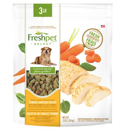 Freshpet select roasted meals chicken recipe with carrots spinach freshpet select roasted meals chicken recipe with carrots spinach dog food 136 kg at walmart forumfinder Image collections
