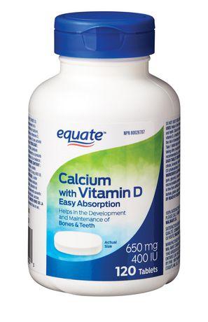 Equate Calcium avec vitamine D - image 1 de 2
