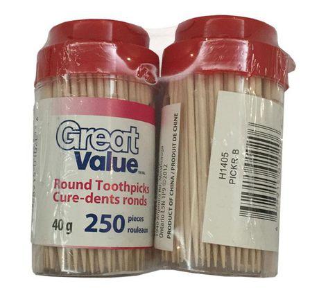 Cure-dents à bouts arrondis de Great Value - image 1 de 1