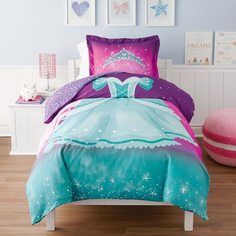 Mainstays Kids Princess Duvet Cover Set Walmart Canada