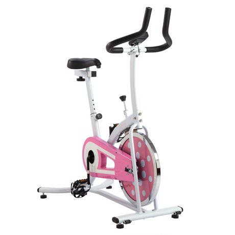 V lo de cyclisme d 39 int rieur rose de sunny health for Velo d interieur
