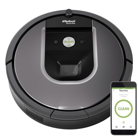 iRobot Roomba 960 Wi-Fi Connected Robot Vacuum - image 1 of 5