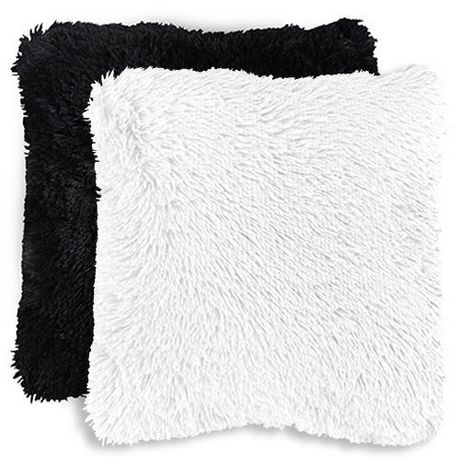 Mainstays Kids Shag Faux Fur Decor Pillow Cover Walmart Canada