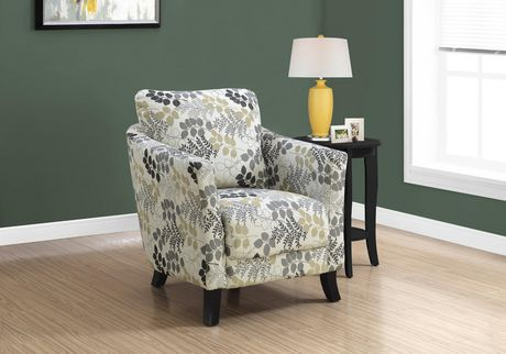 New Beige Accent Chair Decor