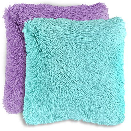 Mainstays Kids Shag Faux Fur D 233 Cor Pillow Cover Walmart