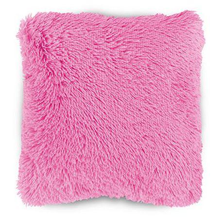 Mainstays Kids Shag Faux Fur Pink D 233 Cor Pillow Cover