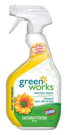 Exceptionnel Green Works Natural Bathroom Cleaner