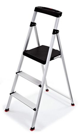 Rubbermaid 3-Step Aluminum Step Stool  sc 1 st  Walmart Canada & Rubbermaid 3-Step Aluminum Step Stool | Walmart Canada islam-shia.org
