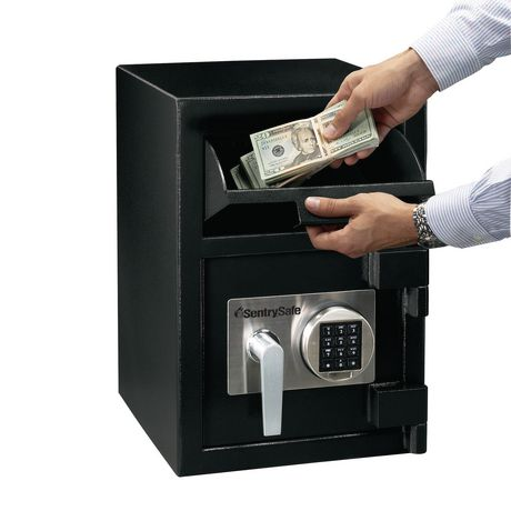 office max safe sentrysafe 0 94 cubic ft depository safe walmart ca 23944