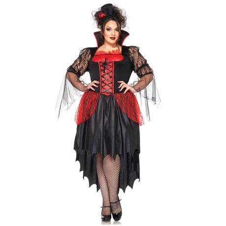 be45879afd0 Wonderland Crimson Lady Sexy Vampire Women s Halloween Costume - image 1 ...
