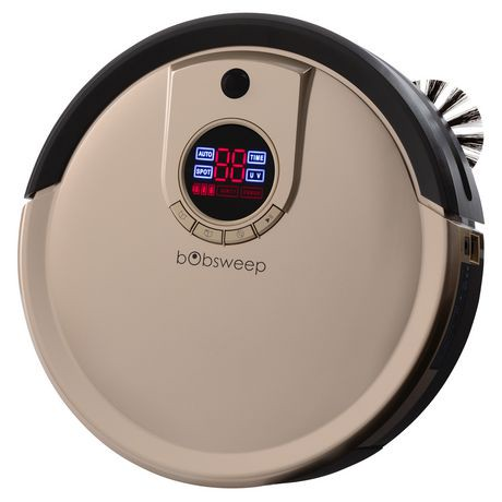Bobsweep Standard Champagne Robotic Vacuum Cleaner And Mop