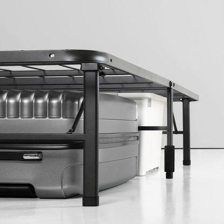 Canada S Best Mattress Smartbase Black Bed Frame Walmart