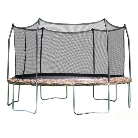 Skywalker Trampolines 12' Camo Round Trampoline And Enclosure - image 1 of 8
