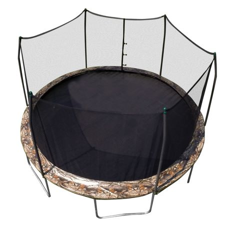 Skywalker Trampolines 15' Camo Round Trampoline And Enclosure - image 1 of 8