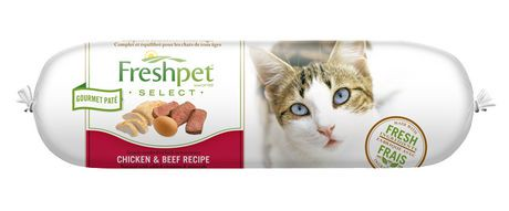 Freshpet Select Chicken Beef Cat Food Recipe Reviews