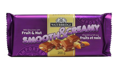 Waterbridge Smooth And Creamy Fruit And Nut Milk Chocolate - image 1 of 2