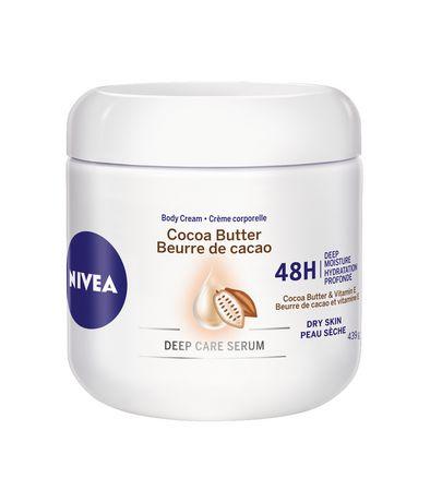 NIVEA Cocoa Butter 48H Deep Moisture Body Cream for Dry Skin - image 1 of 1