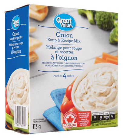 Great Value Onion Soup and Recipe Mix - image 2 of 2