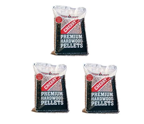 Camp Chef 3 Bags of Charwood Charcoal Cherry Blend Pellets (20 lbs/each bag) - image 1 of 1