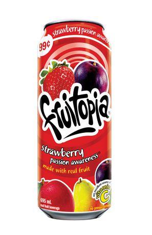 Boisson aux fruits Fruitopia Amitiés fraises et fruits de la passion - image 1 de 1