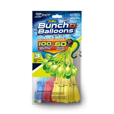 Zuru Bunch O Balloons Fill Tie Self Sealing Water Balloons