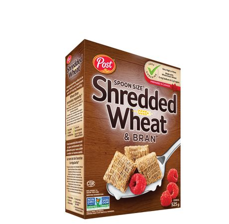 Post Foods Spoon Size Shredded Wheat & Bran Cereals