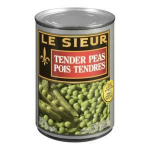 Le Sieur Peas - 284mL Canned Vegetables - image 1 of 1