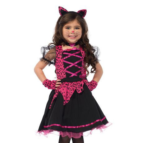 Wonderland Girlsu0027 Rock-n-Roll CAT Costume  sc 1 st  Walmart Canada & Wonderland Girlsu0027 Rock-n-Roll CAT Costume   Walmart Canada