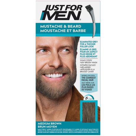 Just For Men Mustache & Beard M-35 Medium Brown Brush-In Colour Gel - image 1 of 1
