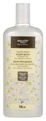 Equate Beauty Vanilla Bean Foam Bath - image 1 of 1