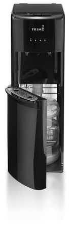 primo deluxe bottom load bottled water dispenser black - Primo Water Cooler