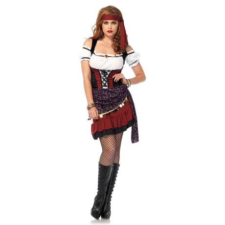 Wonderland Moonlight Gypsy Womenu0027s Sexy Halloween Costume  sc 1 st  Walmart Canada : pictures of gypsy costumes  - Germanpascual.Com