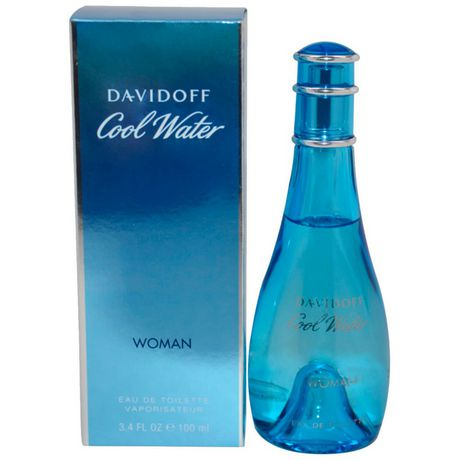 Davidoff Cool Water Eau De Toilette Spray For Women 100 Ml Walmart