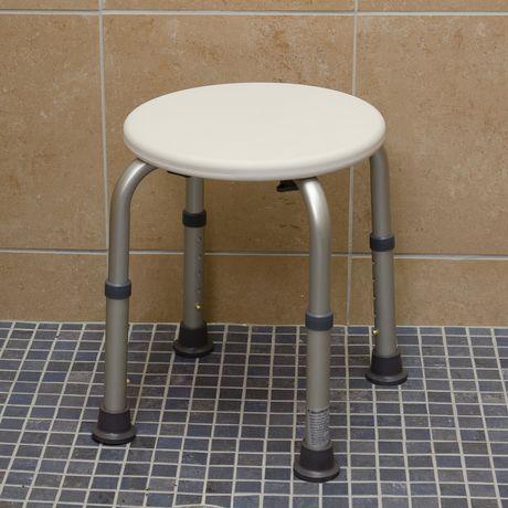 Tabouret de douche compact et léger HealthSmart - image 3 de 5