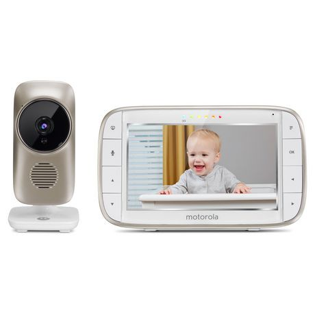 "Motorola Mbp845 Connect 5"" Video Baby Monitor With Wi Fi by Motorola"
