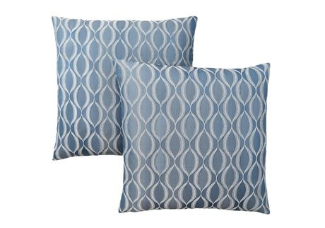 Monarch Specialties Inc Monarch Specialties Wave Patterned Decorative Pillows - image 1 of 3