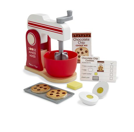 Melissa & Doug Blend & Bake Mixer Play Set - image 3 of 5
