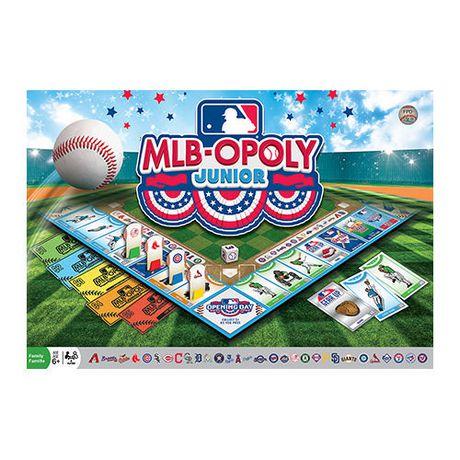 MLB Opoly Jr. - image 1 of 2