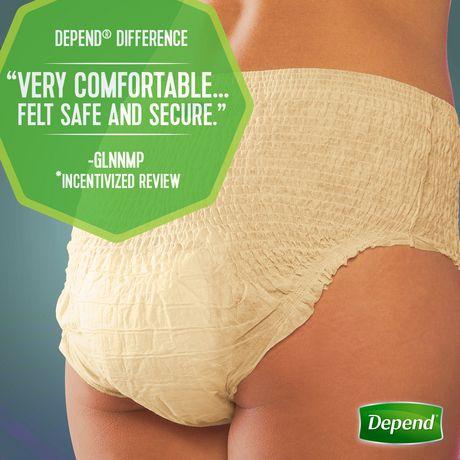 Depend Fit-Flex Women's Moderate Absorbency Underwear - image 4 of 5