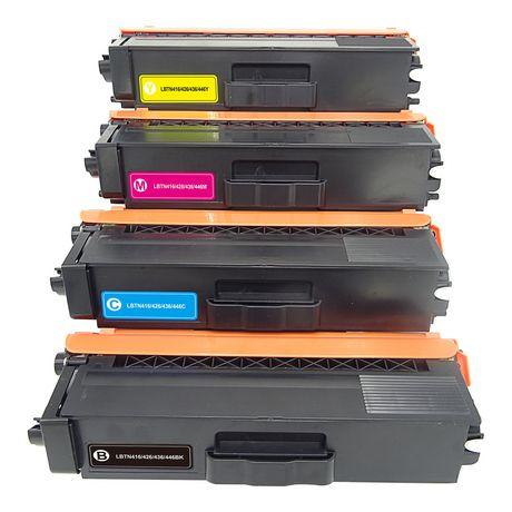 L-ink Compatible Toner set TN221 (TN-221) (Black, Cyan, Magenta, Yellow)