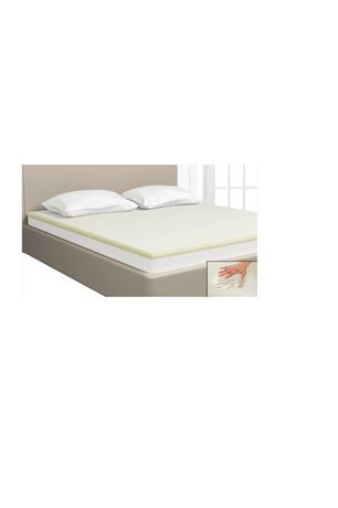 Mainstays 1 5 Inch Fusion Memory Foam Mattress Topper