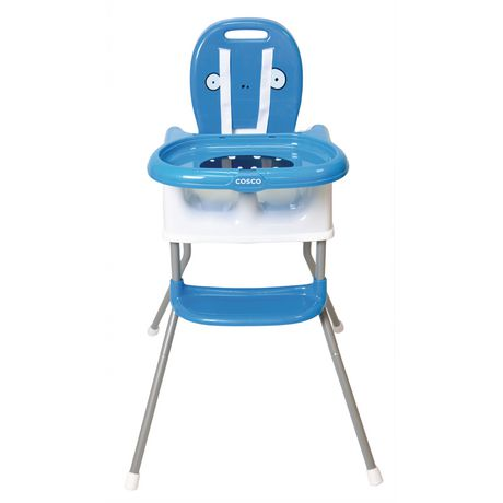 Cosco Sit Smart DX 4 in 1 High Chair - Bogdan Blue - image 1 of 9