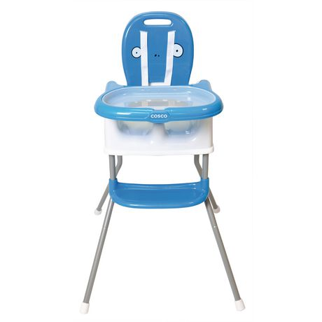 Cosco Sit Smart DX 4 in 1 High Chair - Bogdan Blue - image 2 of 9