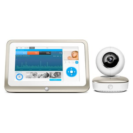 motorola smart nursery 7 portable wi fi video baby monitor. Black Bedroom Furniture Sets. Home Design Ideas