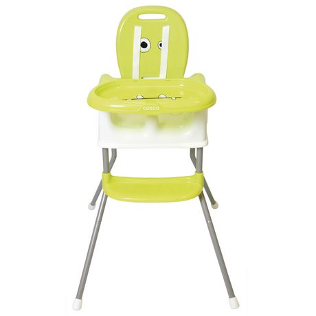 Cosco Juvenile Cosco Sit Smart DX 4 In 1 High Chair   Leonardo Lime |  Walmart Canada