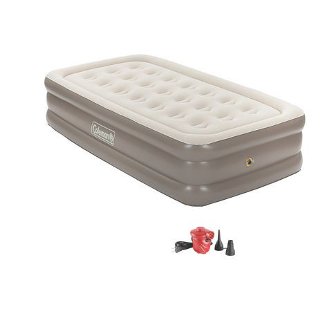 matelas pneumatique double hauteur pour lit 1 place supportrestmc plus de coleman walmart canada. Black Bedroom Furniture Sets. Home Design Ideas
