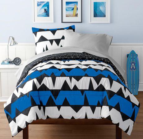 parure de lit en mainstays kids pour gar ons motif. Black Bedroom Furniture Sets. Home Design Ideas