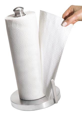 Kamenstein Perfect Tear Paper Towel Holder - Stainless Steel